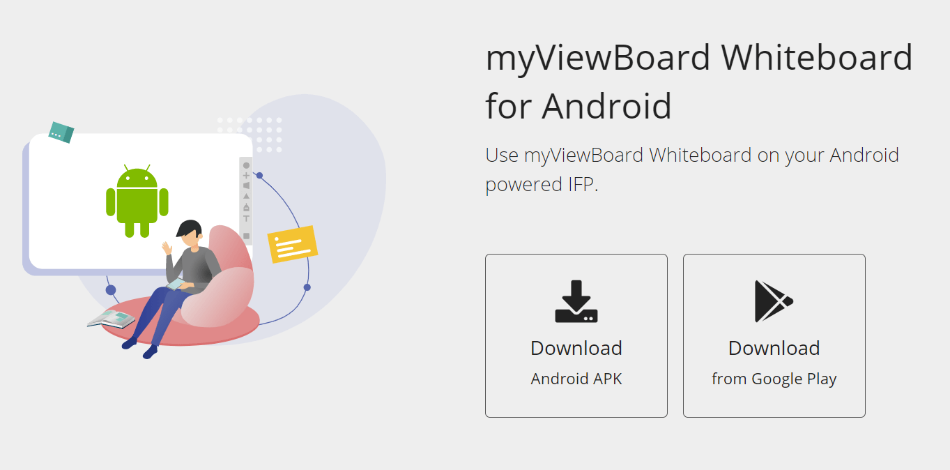 Downloading Whiteboard for Android