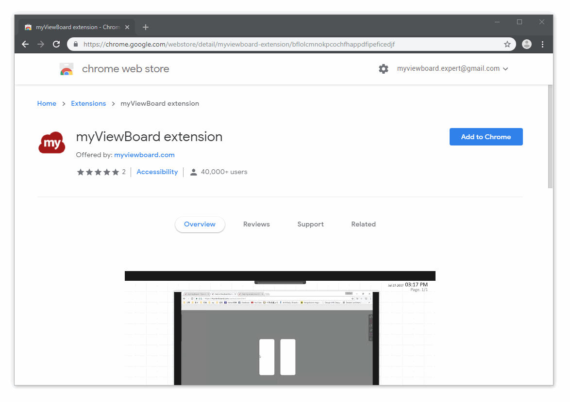 Extension for Chrome